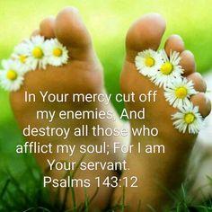 Psalm 143:12