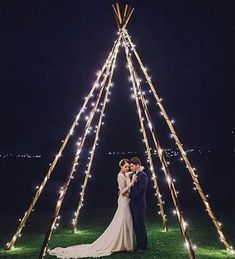 Here Are Your Favourite Wedding Stories This Year After Dark Wedding Portraits Beneath A Naked Tipi Wrapped In Fairy Lights Sophie Baker Photography Tipi Wedding, Fall Wedding, Wedding Ceremony, Dream Wedding, Wedding Cakes, Wedding After Party, Wedding Bedroom, Berry Wedding, Nye Party