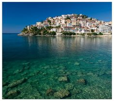 Kavala, Greece Can't wait to go back one day! It was so beautiful! Oh The Places You'll Go, Cool Places To Visit, Places To Travel, Flora, Future Travel, Greece Travel, Greek Islands, Dream Vacations, Vacation Destinations