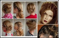 Top 6 easy casual updos for long hair,