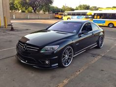 Mercedes-Benz CL63 AMG on Rennen Forged Wheels