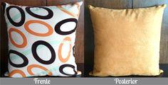 Cojín Ovalos Naranja Solo en Domi Design Todo lo que necesitas en Muebles y accesorios de Diseño para tu hogar