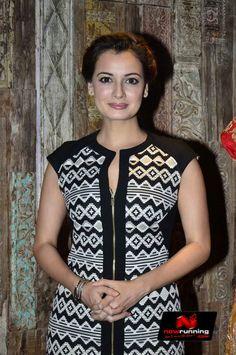 Dia at Shyamal Bhumika store launch