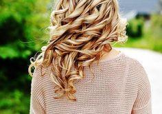 gorgeous bouncing curls