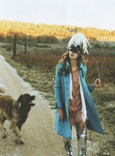 bohemian wanderer #dog #model #editorial #fashion #style #photography #feature