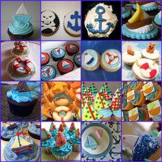 Sailing Cupcakes 9 cakepins.com