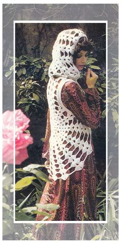 Instant Download PDF Seventies Vintage CROCHET by YesterdaysMagic