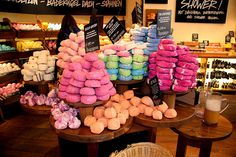 Lush....fab scents, fab ingredients.