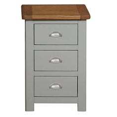 Ennerdale - 3 Drawer Bedside from Barker and Stonehouse