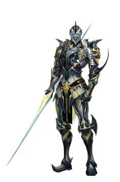 Cavalier Knight Armor - Pathfinder PFRPG DND D&D d20 fantasy