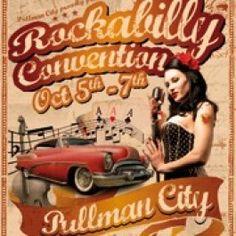 Besuche am 5. bis 7. Oktober das Rockabilly Convention Wochenende in Eging am See im Bayerischen Wald und tauche in die Atmosphäre der 50er Jahre. Diese tolle Feier wirst Du nie vergessen! Buche jetzt online und los gehts. $8