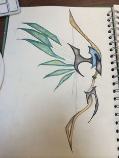 Start of water colour design