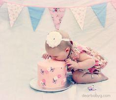 1st Birthday Photo Shoot Ideas | Photo Shoot Ideas / 1st birthday cake