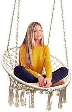 Hammock Chair Macrame Swing by Sorbus Hammocks #HammockChair