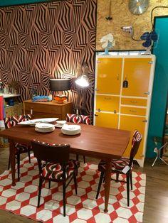 Alacena aparador armario mueble de cocina retro - Muebles siglo xxi ...