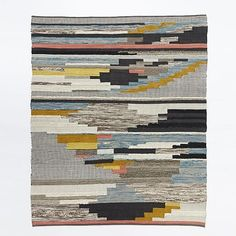 Multi Pixel Woven Rug   west elm