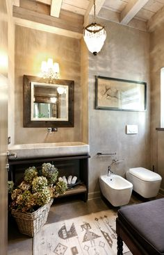 Bathroom | via Elixir Undicilandia