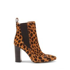 Vince Camuto Britsy Cheetah-print Bootie - Vince Camuto