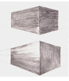 Give Your Drawings Depth by Learning the Basic Types of Pencil Shading: Shading in Perspective