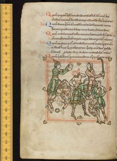 The prophesy of Cuthbert's bishopric which was given by a boy with whom Cuthbert had been playing as a child... univ.ox.ac.uk