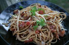 Recipe Shoebox: Caramelized Onion and Garlic Pasta