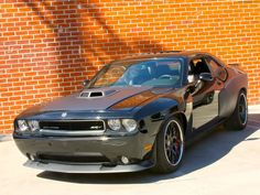 2012 Dodge Challenger SRT8 Front Angle – Fast & Furious 6 Car #Cars-Motorcycles