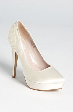 Love simple detail! Glint 'Janessa' Pump available at #Nordstromweddings