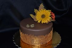 Autumn cake - Cake by drahunkas Autumn Cake, Fall Cakes, Autumn Colours, Birthday Cakes, Floral Arrangements, Desserts, Food, Rose Flower Arrangements, Flower Arrangements