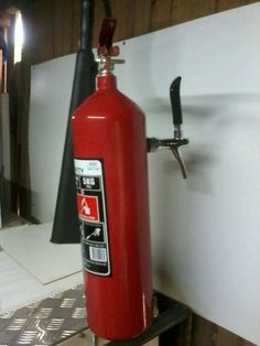 fire extinguisher tower.. I can make towers out of anything and any theme.