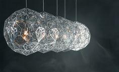 Etch Light Web Suspension Lamp - hivemodern.com Tom Dixon $1725