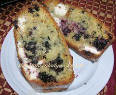 Blackberry Cream Cheese Bread