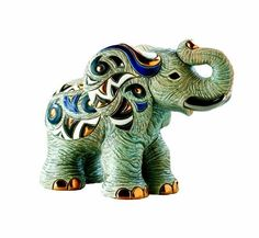 Rinconada makes nice figurines. Love this cute little elephant. Asian Elephant, Elephant Love, Elephant Art, Little Elephant, Elephant Gifts, Elephant Stuff, Pink Elephants On Parade, All About Elephants, Elephants Never Forget