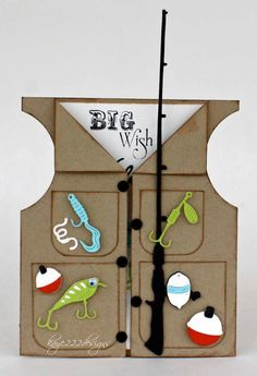 Hi everyone! Its Lisa back today sharing this fun fishing vest made using the New October Release with Cheery Lynn Designs . I love the...