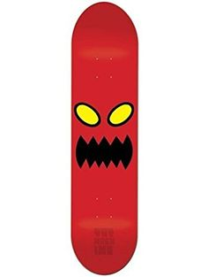 Toy Machine Monster Face 8.0 Skateboard Deck ❤ Toy Machine