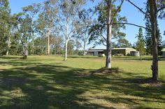 Horse Property for Sale in Australia County in Queensland. This ideal horse property with outbuildings that could easily be converted into stables, and plenty of room (6 acres) for yards or dressage area, is 5 minutes away from the Queensland State Equestrian Centre (Q.S.E.C) featuring 80m x 40m in door arena with seating for up to 5,000 spectators plus many other features in this World class complex.