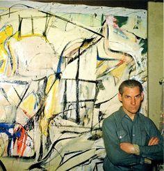 Willem de Kooning, 4th Avenue, 1950