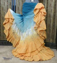 """Bimini"" Petticoat 25yd skirt by Painted Lady Clothiers"