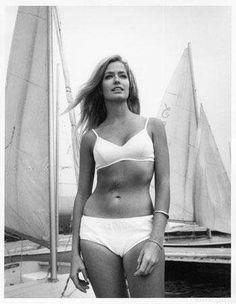Farrah Fawcett on a Boat