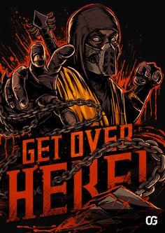 MORTAL KOMBAT Fighters T-Shirt Series — GeekTyrant
