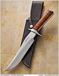 Photos SharpByCoop • Gallery of Handmade Knives