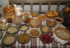 Traditional Ukrainian Christmass Supper , from Iryna