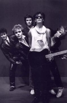 Duran Duran - Defined the and yes I loved their music! Nick Rhodes, Simon Le Bon, Nigel John Taylor, Roger Taylor, Birmingham, New Wave, Great Bands, Cool Bands, Uk Singles Chart