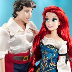 Disney Fairytale Designer Couples Collection - Ariel and Prince Eric