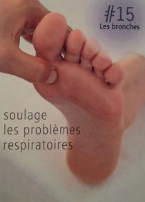 La réflexologie des pieds : Les bronches : soulage les problèmes respiratoires