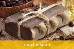 Homemade Mocha Soap and other good recipes for soap making