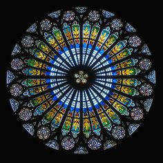 Clostridium, Rose window from Strasbourg Cathedral