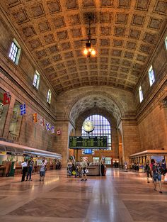Union Station Toronto HDR by Intiaz Rahim, via Flickr  Pinned from http://www.skyscrapercity.com/showthread.php?t=1184937