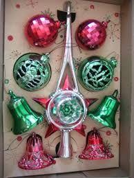 Image result for vintage christmas ornaments