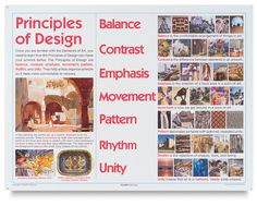Crystal Productions Illustrated Elements Of Art Principles Design