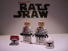 Lego Star Wars minifigures - Clone Custom Troopers - RISHI Medalled 5s